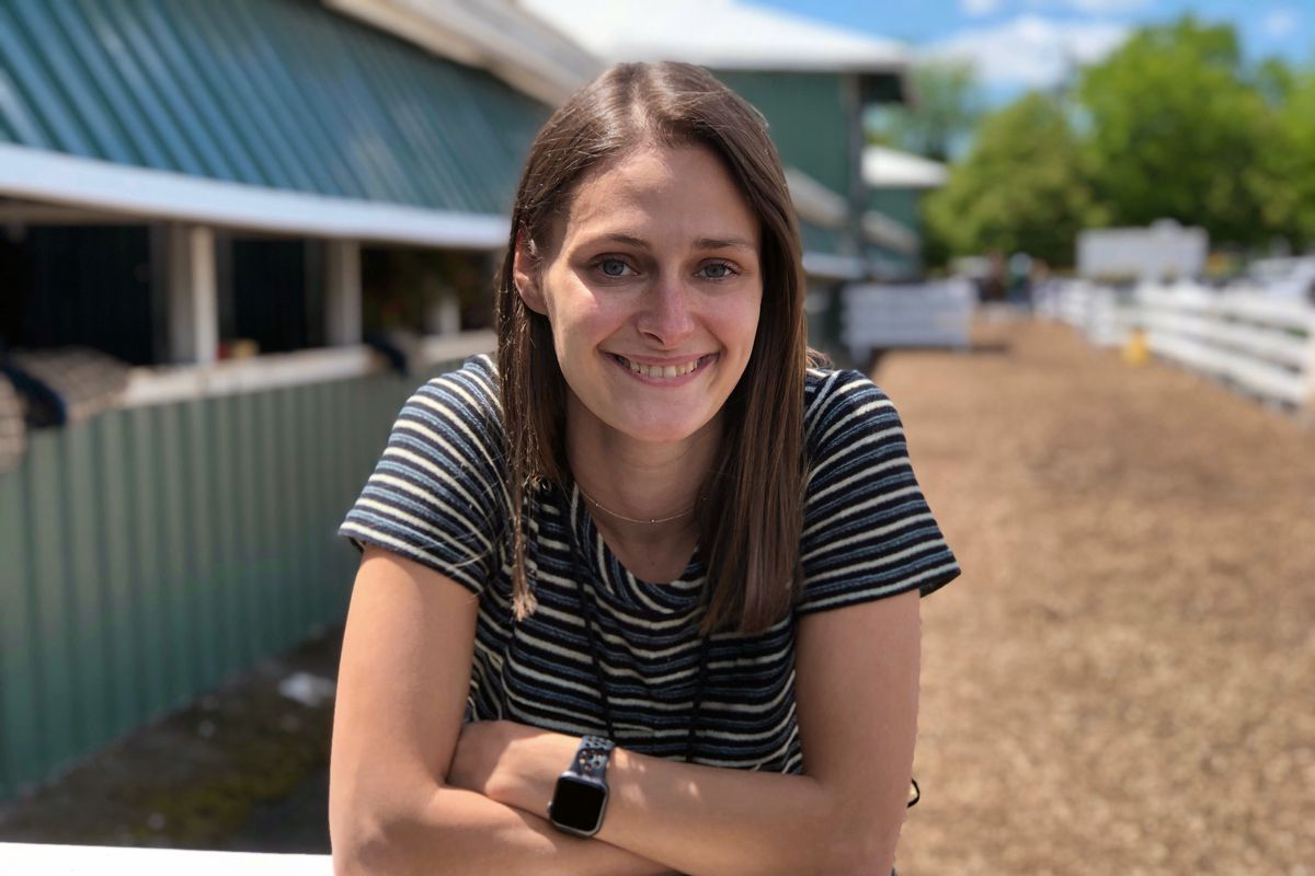 Lindsay Schanzer on Saturday will be the first woman to produce a Triple Crown telecast on site when the Preakness airs on NBC.