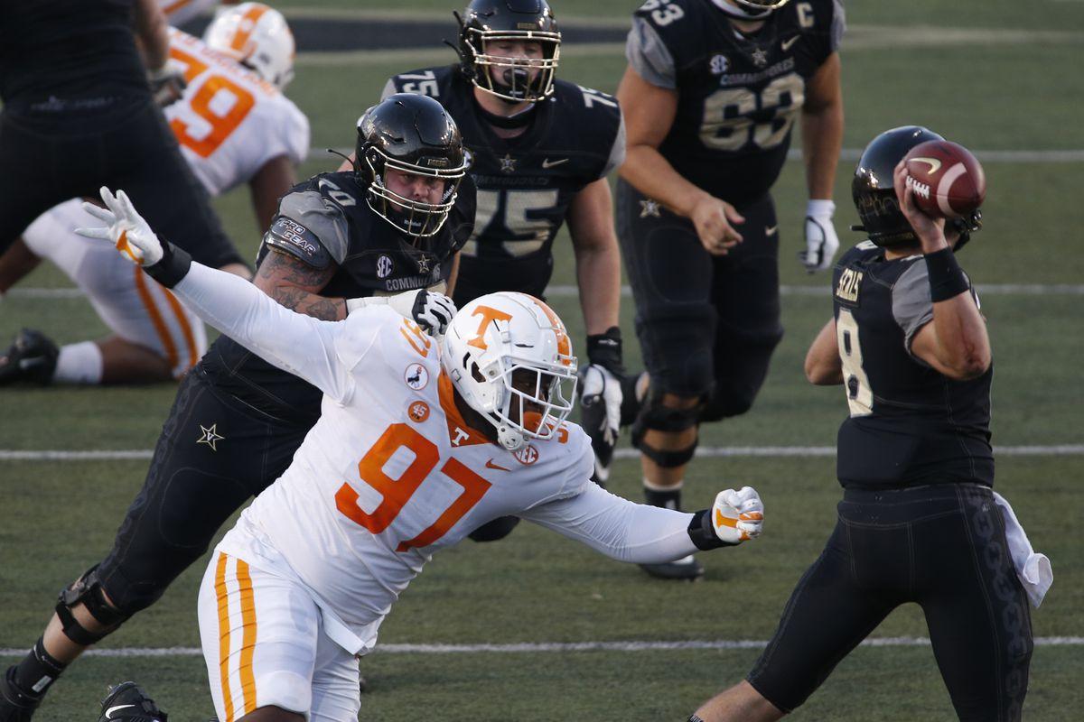 COLLEGE FOOTBALL: DEC 12 Tennessee at Vanderbilt