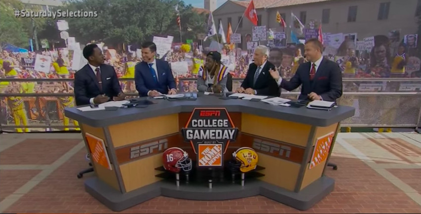 4399b7c1fb ESPN 'College GameDay' celebrity guest pickers, grouped by category ...