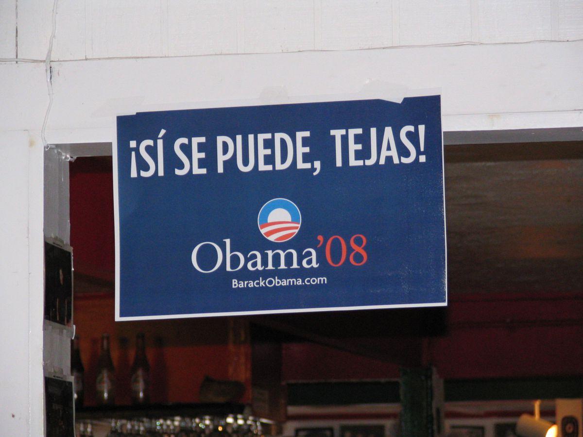 si se puede obama
