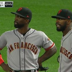 McCutchen and Jackson <strong>know</strong> Moran is out. Jackson's spitting furiously in this segment, too. Little flaky blips shooting out of his mouth as he pulses his tongue repeatedly. At the very end of this segment, Blanco comes into frame and fist bumps McCutchen.
