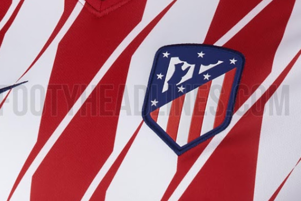 Atltico shirts leaked new badge confirmed into the calderon on friday morning around 1230 am madrid time atltico madrid confirmed its new club badge and announced the beginning of a historic season voltagebd Choice Image