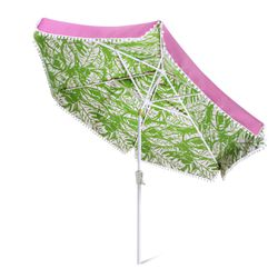 'Boom Boom' patio umbrella, $100, base sold separately, $50