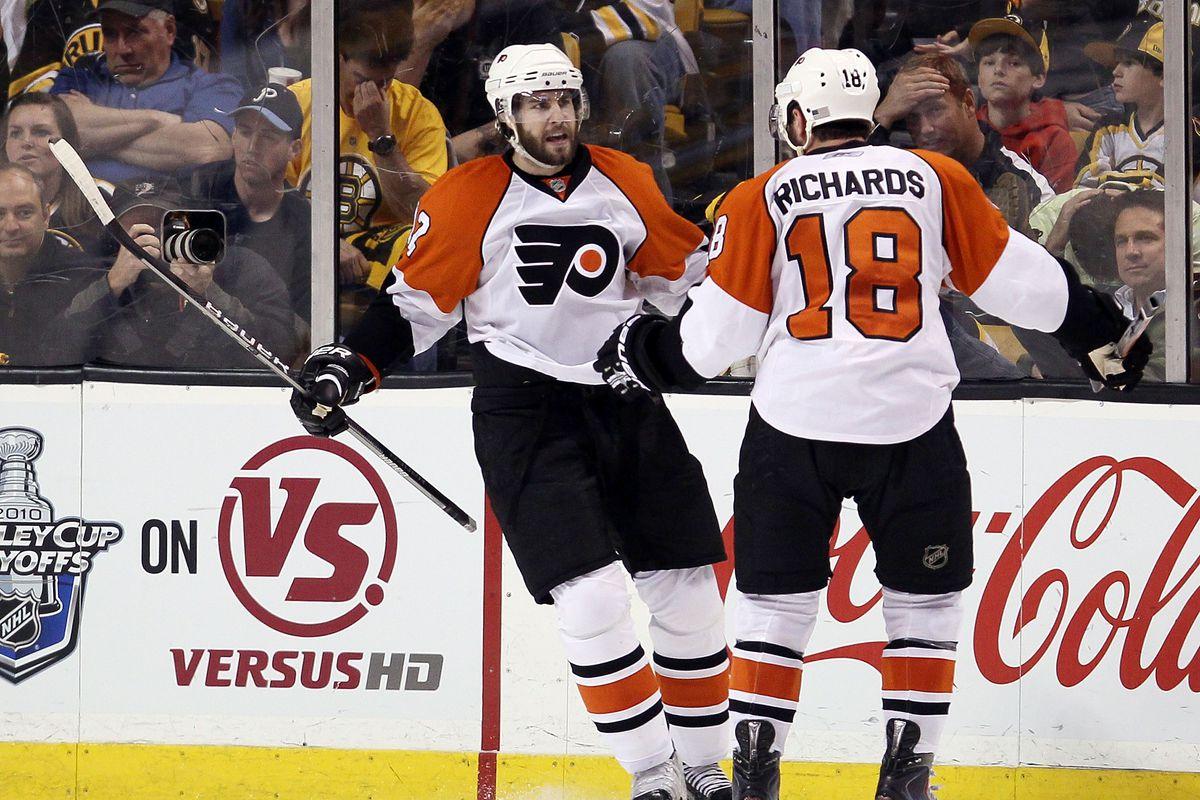 Today in Philadelphia Flyers history  Pre-game brawl in Montreal ... d2f34170b0e3