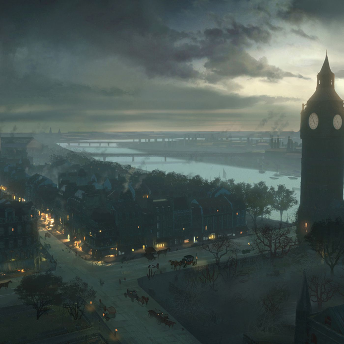 The Concept Art Behind Assassin S Creed Syndicate S Beautiful