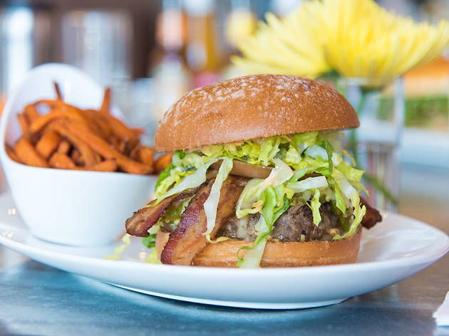 """<span data-author=""""-1"""">New Mexican-Style Green Chile Cheeseburger at DW&nbsp;Bistro </span>"""