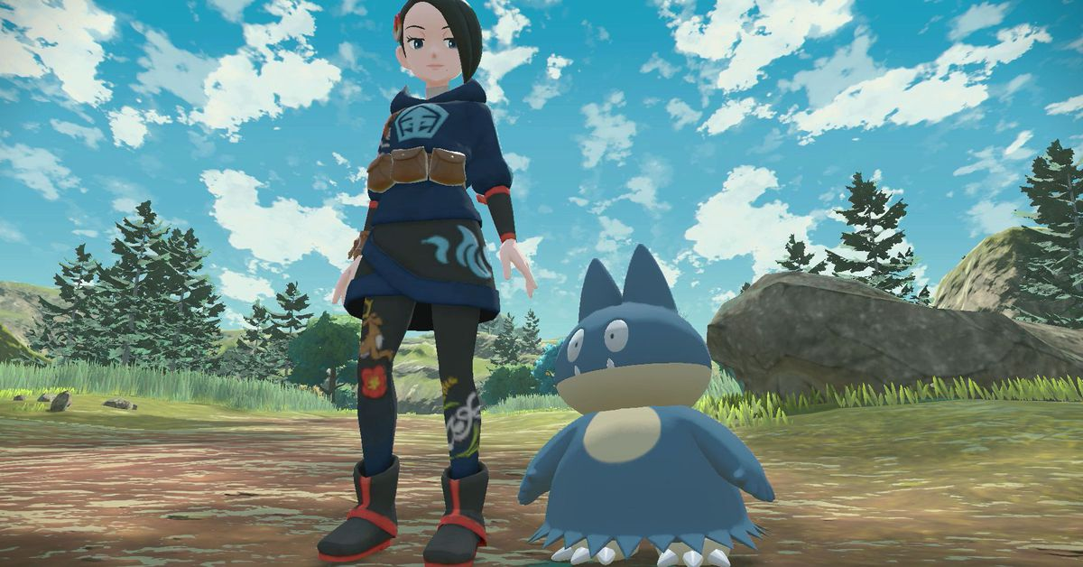 Pokémon Legends: Arceus' new trailer shows you what you'll do outside of battle
