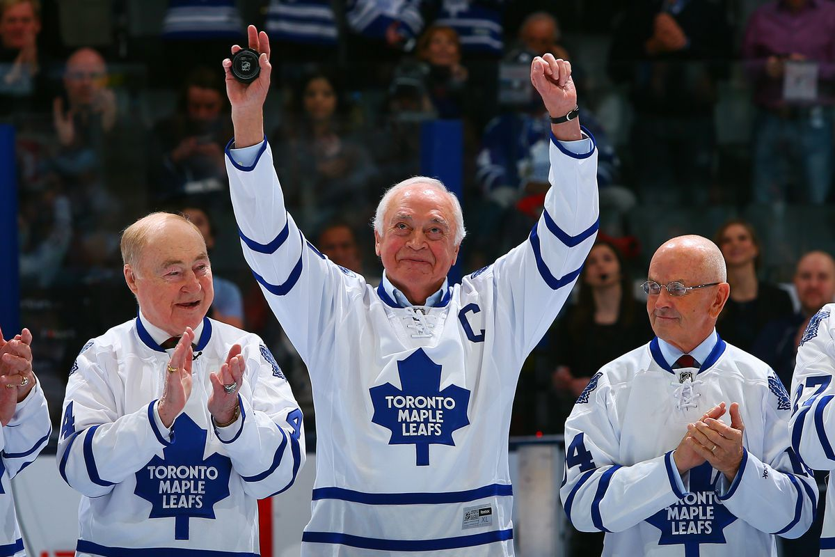 d2ec282e6bc Maple Leafs by the Numbers: #10 - George Armstrong or Ted Kennedy ...