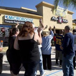 "Escondido, California. [Photo: <a href=""http://www.nctimes.com/news/local/escondido/escondido-giveaway-draws-hundreds-to-latino-themed-pizza-chain/article_a9f202e3-3987-5a65-a03a-4eb60bd910a6.html"">NCT</a>]"