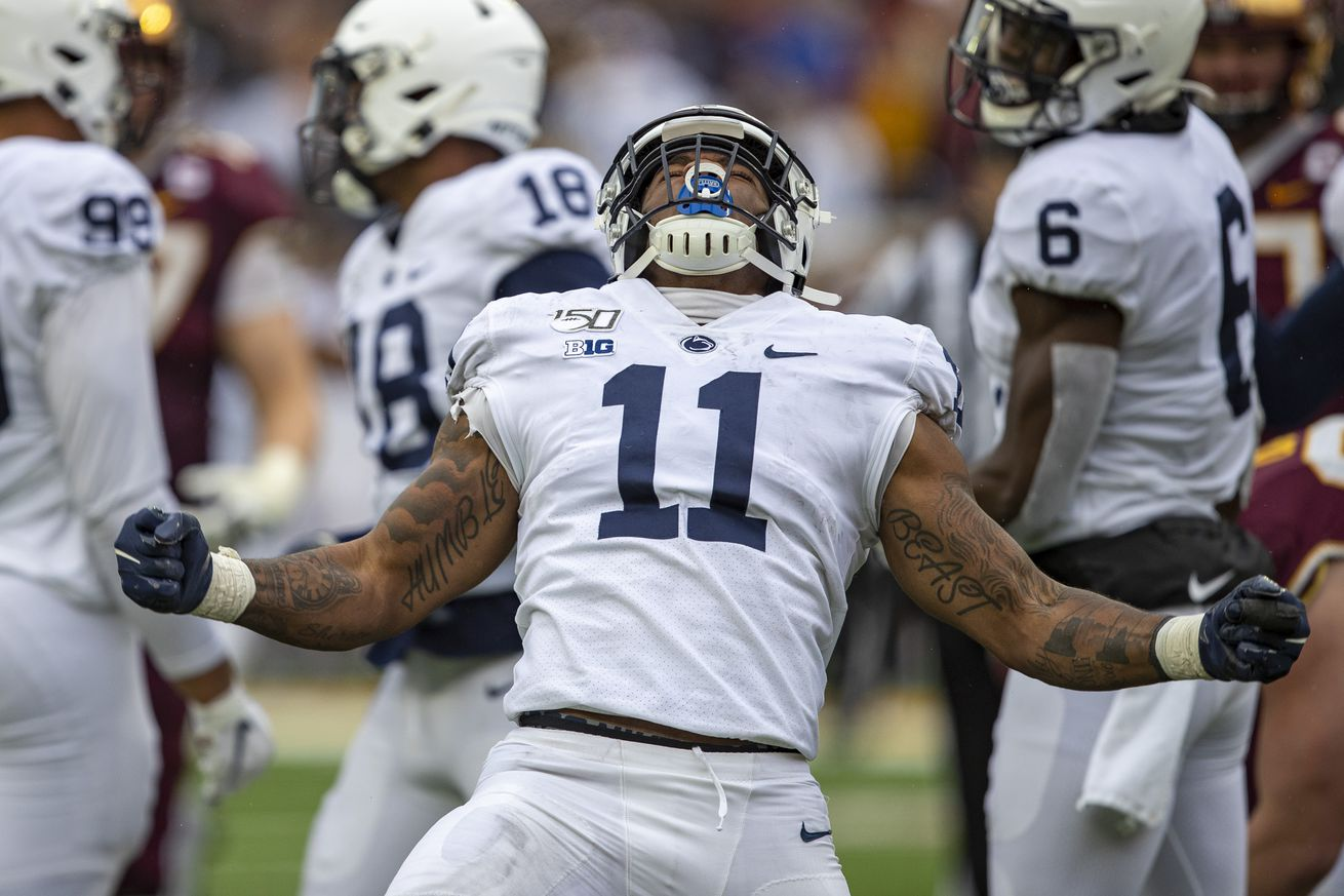 NCAA Football: Penn State at Minnesota