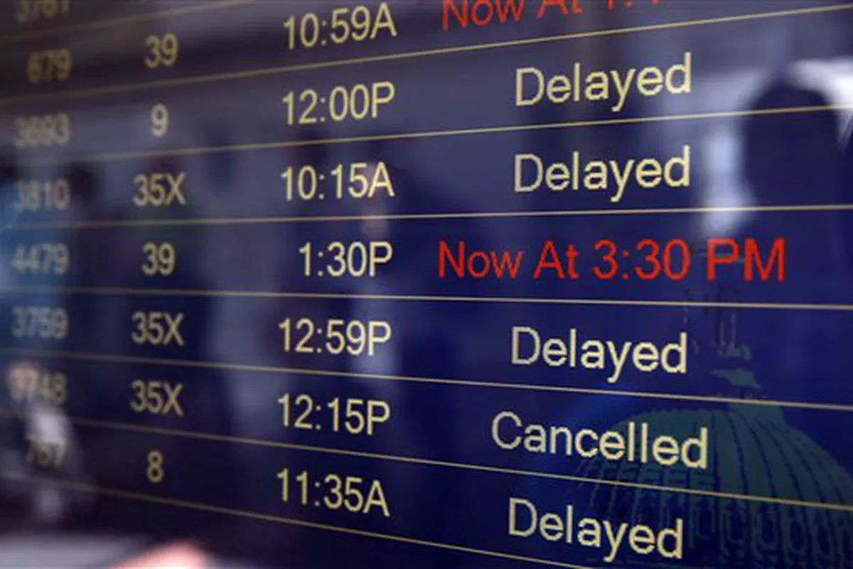 Incoming flights at Midway Airport are delayed about 30 minutes March 17, 2020, after the air traffic control tower is temporarily shut down due to several employees who tested positive for the coronavirus, the FAA said.