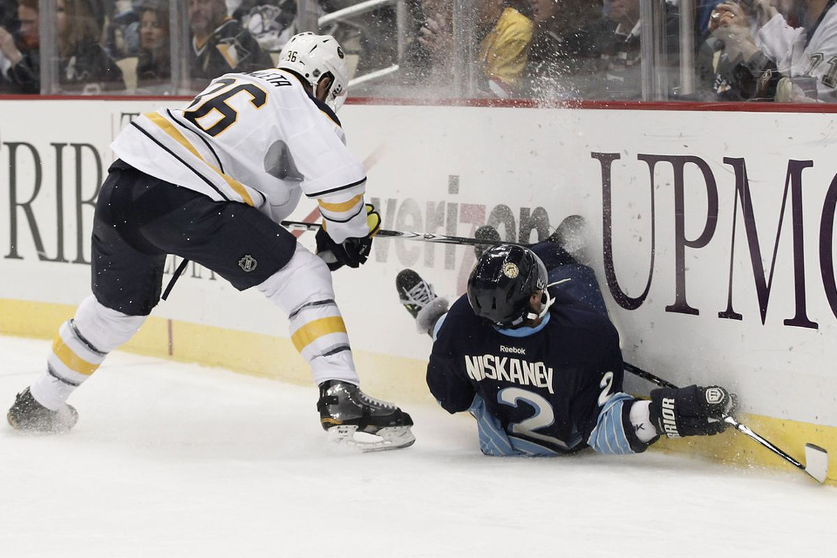THIS guy is marginally worse than Goligoski? Get out of here.  (Photo by Jared Wickerham/Getty Images)