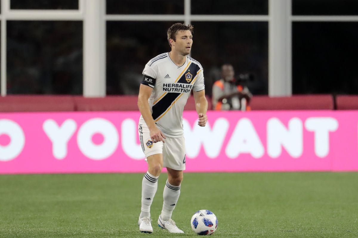 SOCCER: JUL 14 MLS - LA Galaxy at New England Revolution