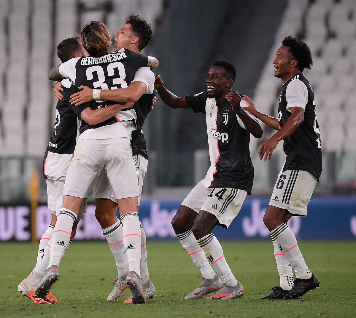 (SP)ITALY-TURIN-FOOTBALL-SERIE A-JUVENTUS VS SAMPDORIA