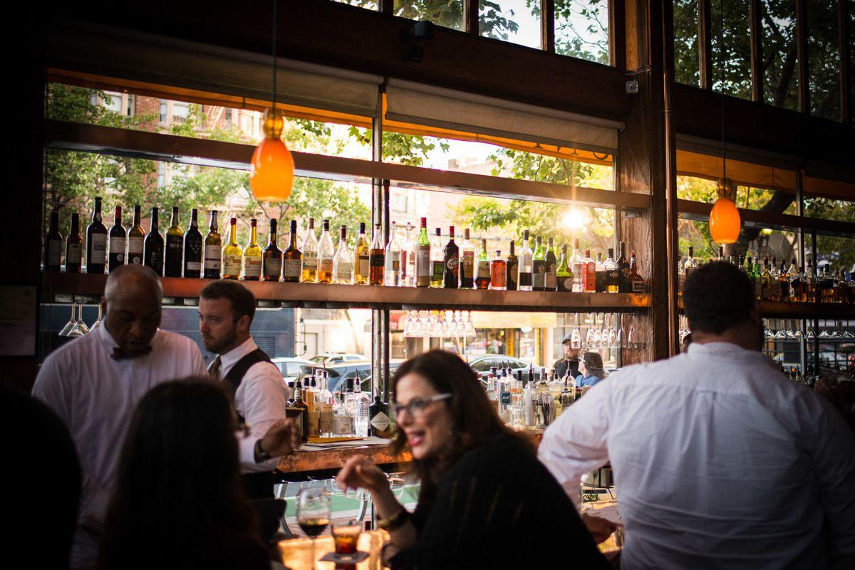 The bar at Zuni Cafe