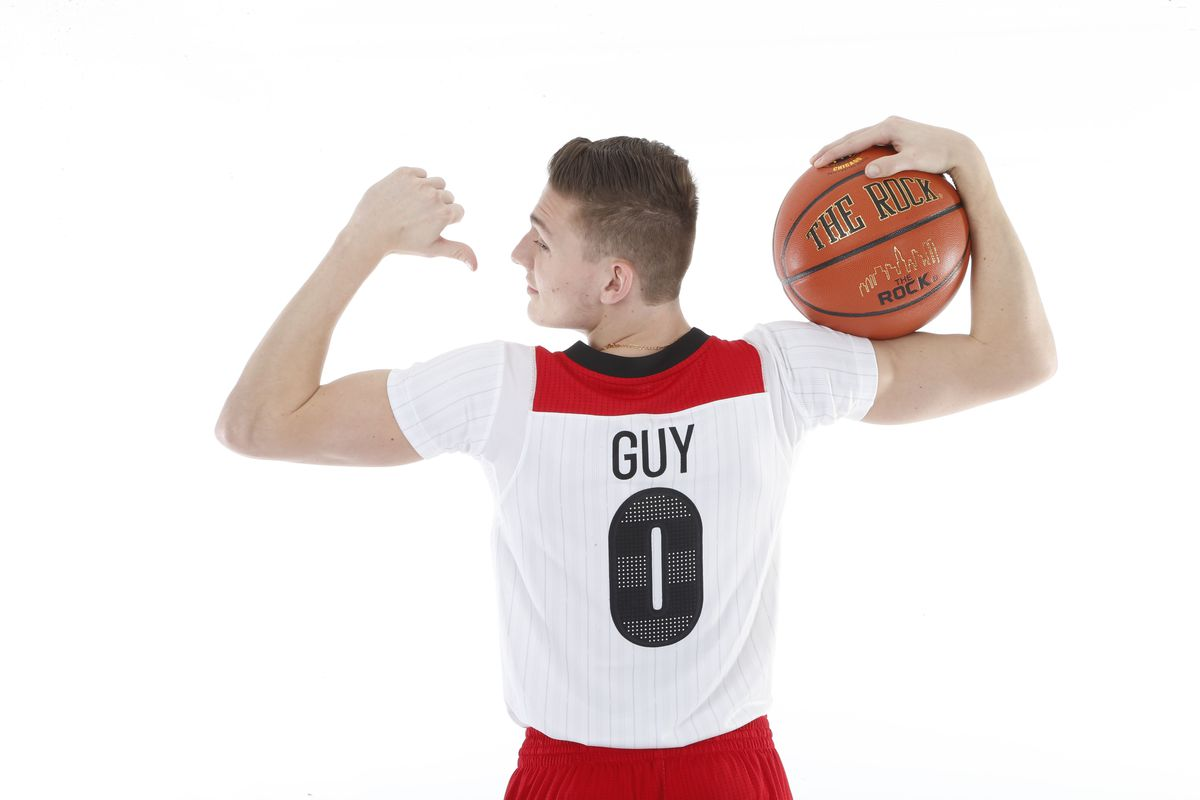 Virginia recruit Kyle Guy ready to show out in the skills competitions.