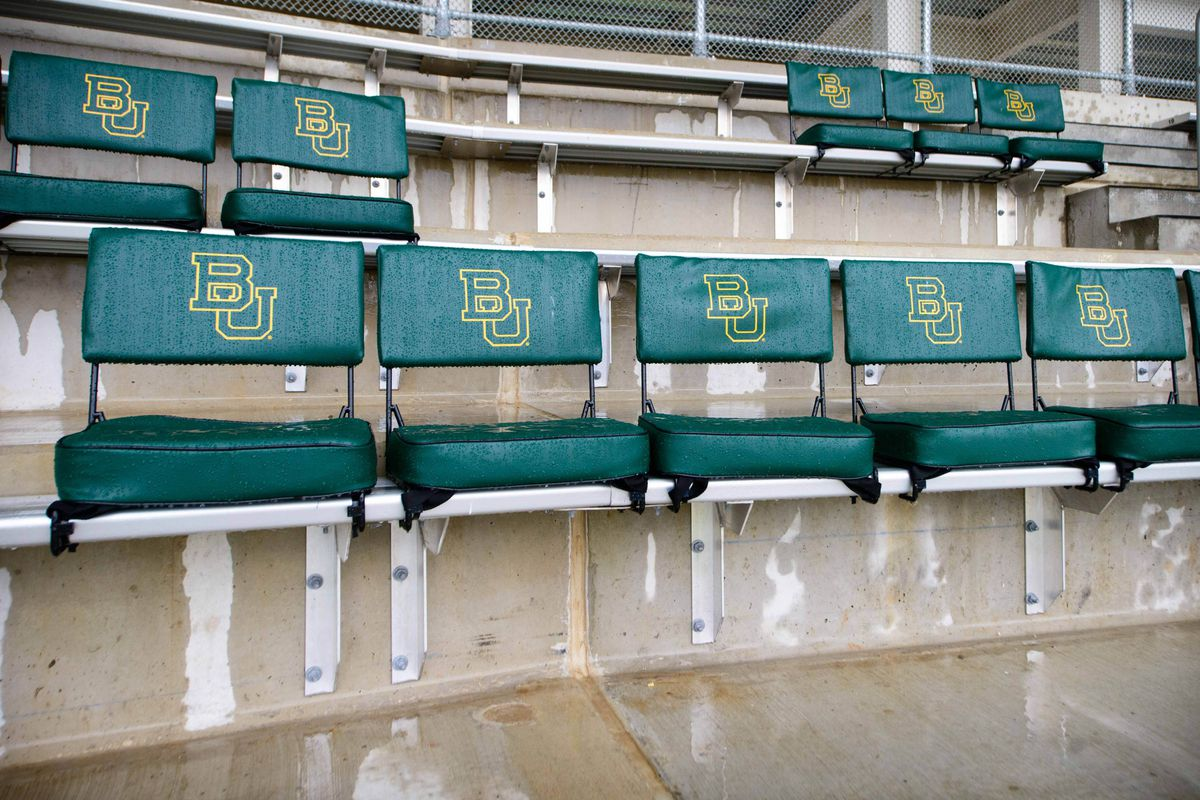 Baylor doesn't play. So the seats are empty. It's sad. But hey, there's still college football!