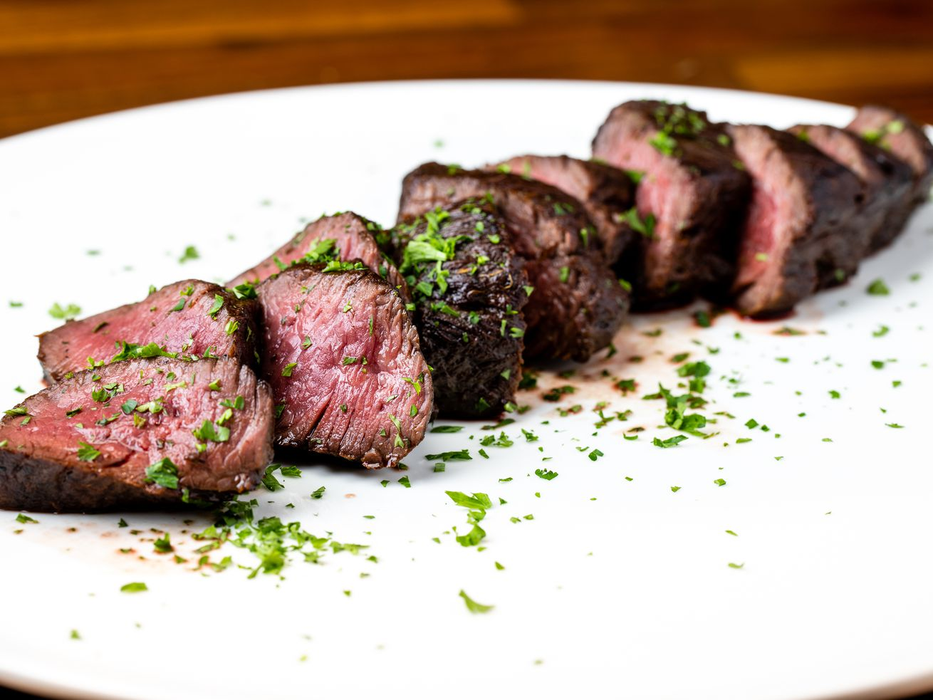 About Last Knife's beef tenderloin.