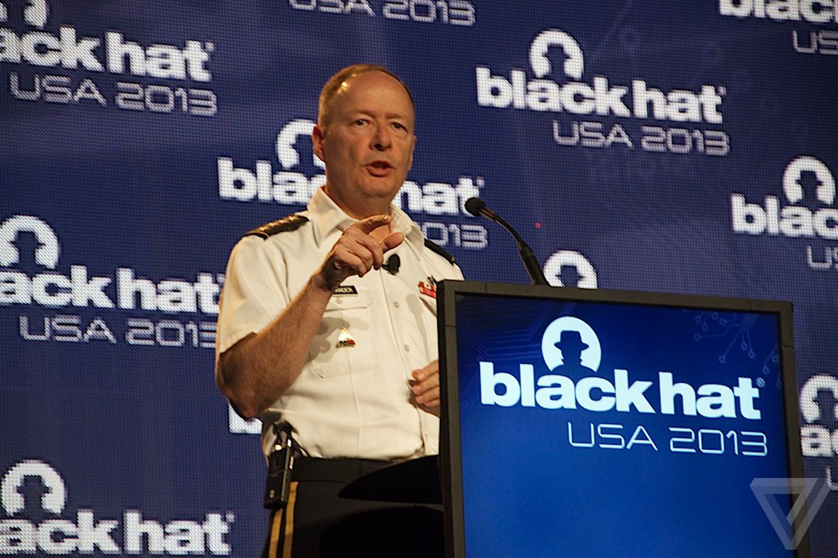 NSA director Gen. Keith Alexander