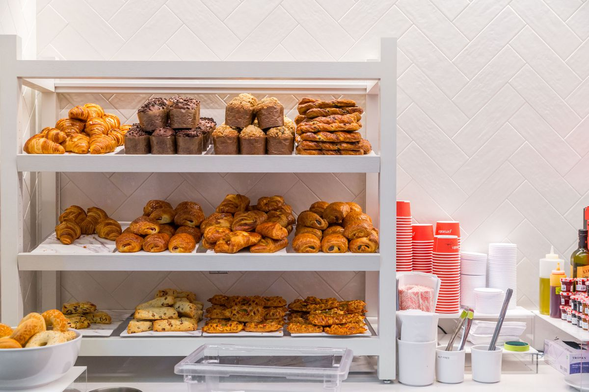 Pastries at Pronto by Giada