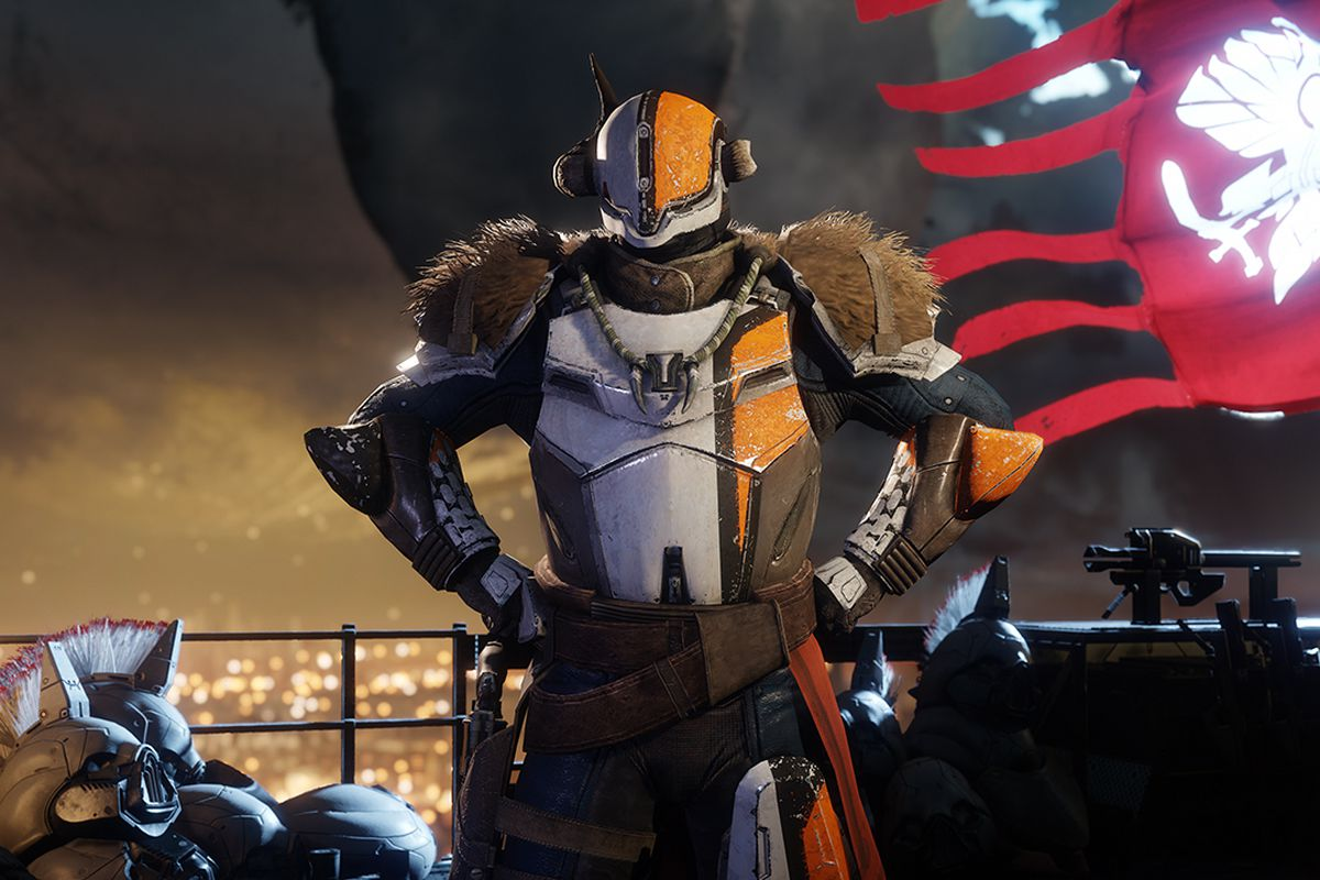Destiny 2 - Lord Saladin in the Tower