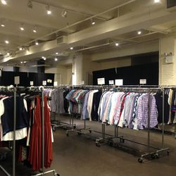 The Bonobos section of the sale