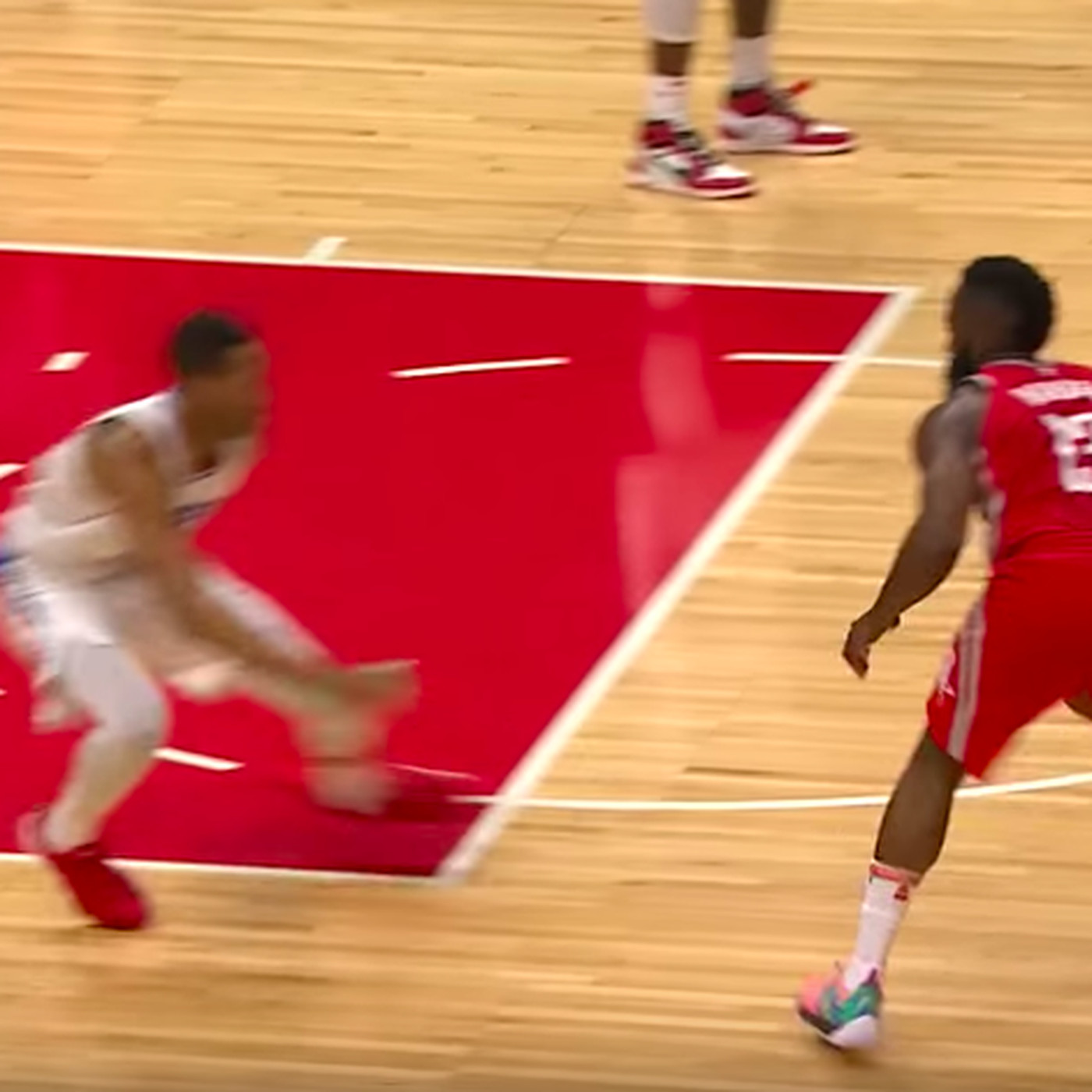 b81b214dc 13 most disrespectful things from James Harden s crossover on Wesley Johnson  - SBNation.com