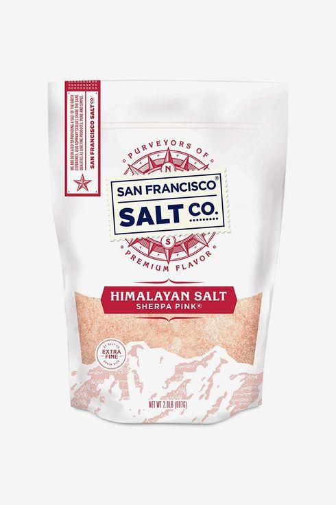 A bag of himalayan salt