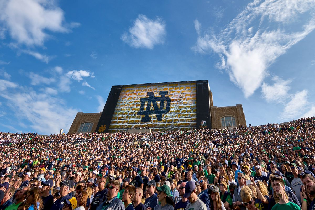 COLLEGE FOOTBALL: SEP 02 Temple at Notre Dame