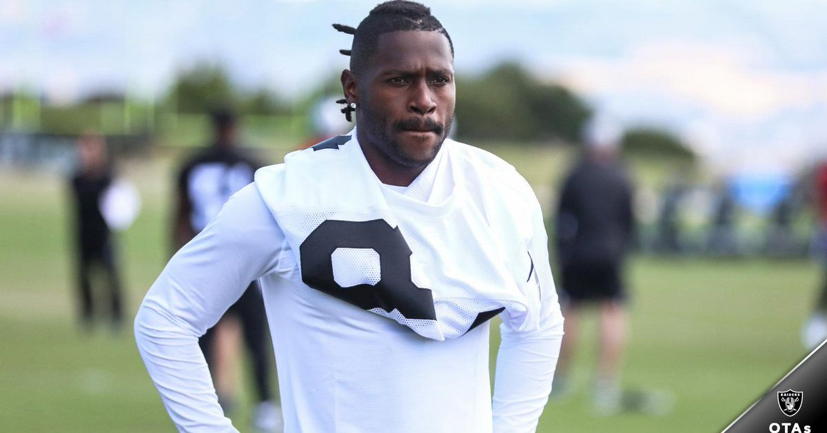 Jon Gruden gets his wish as Antonio Brown shows up for day two of Raiders OTA's