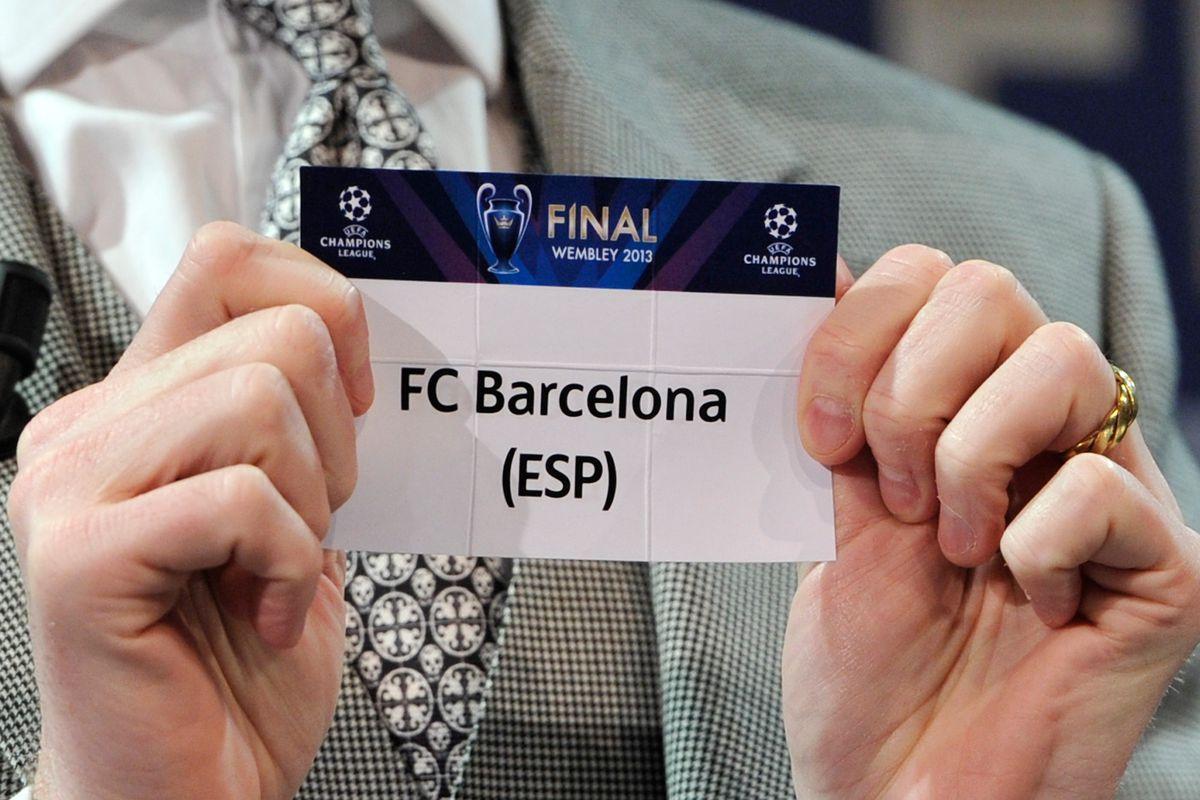 UEFA Champions League and UEFA Europa League - Quarter Finals Draw