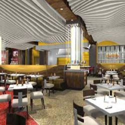 Caesars Entertainment sent these renderings to some Total Rewards members in July to get their opinion on a new Gordon Ramsay burger concept. Now they are the look of Gordon Ramsay's coming Flame Burger.