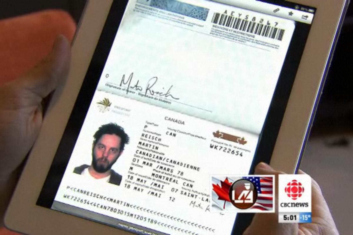 iPad 2 passport