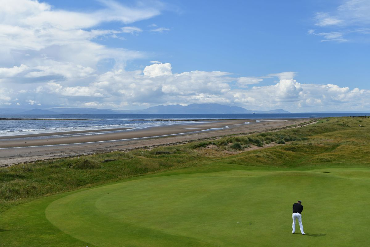 Links golf in Scotland is perfect for July.