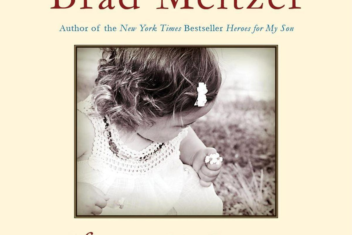 """In this book cover image released by Harper, """"Heroes for My Daughter,"""" by Brad Meltzer, is shown."""