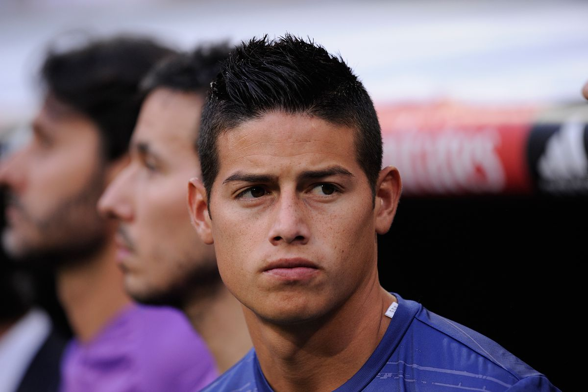 Photo By Denis Doyle Getty Images James Rodriguez And His Real