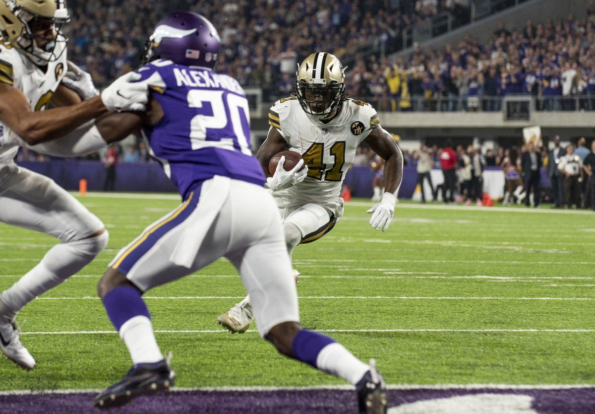 New Orleans Saints v Minnesota Vikings