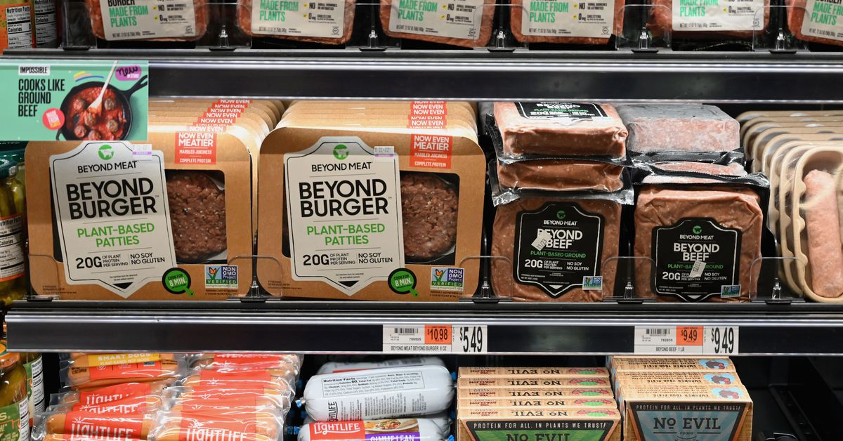 Plant Based Meat Sales In The Us Are Up 264 Percent Since March The Verge