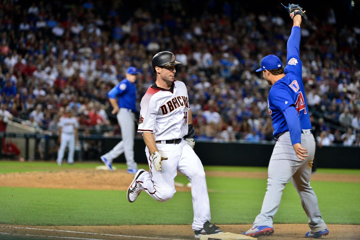 MLB: Chicago Cubs at Arizona Diamondbacks