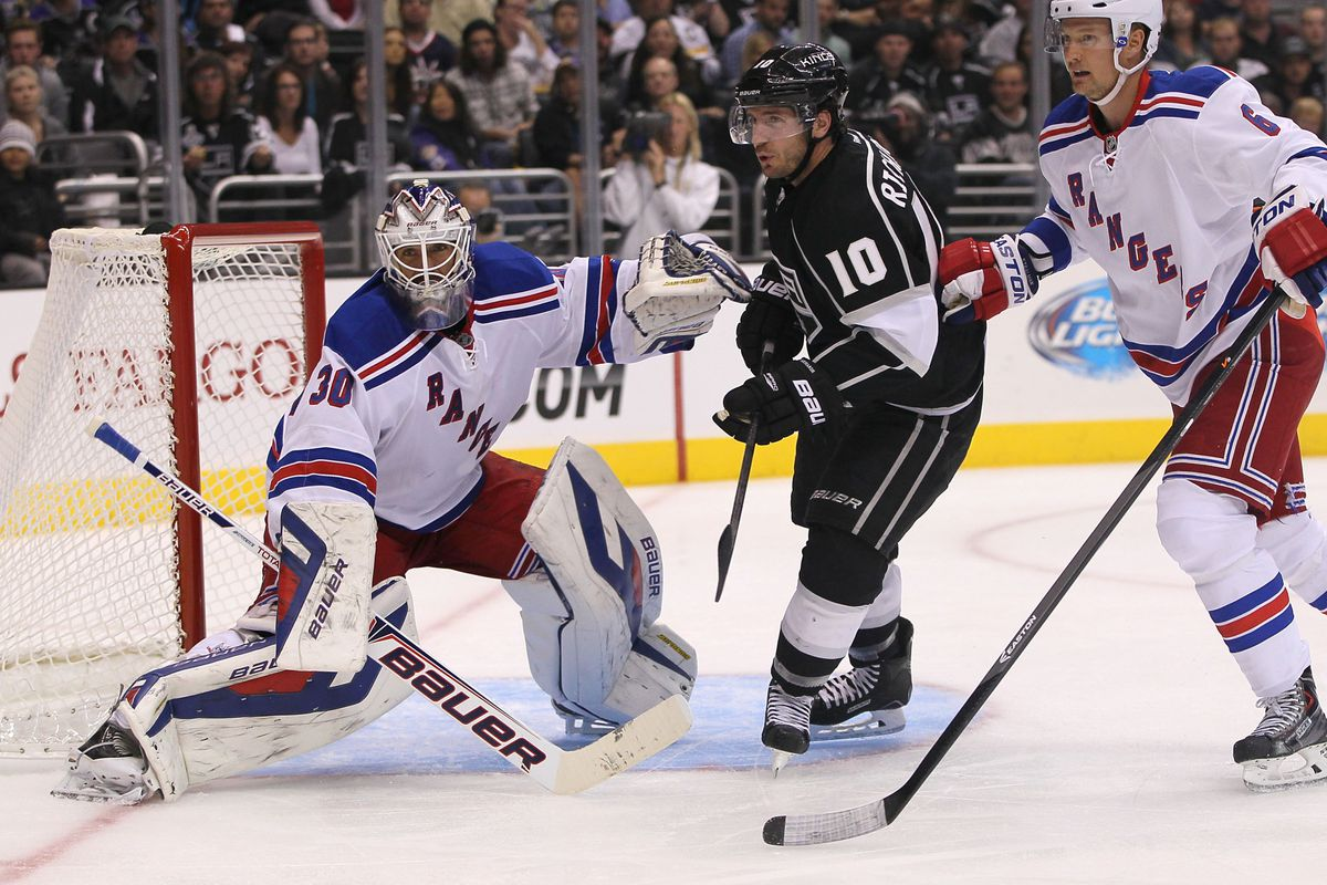 Henrik Lundqvist and the Rangers meet Mike Richards and the Kings in the Stanley Cup Final.