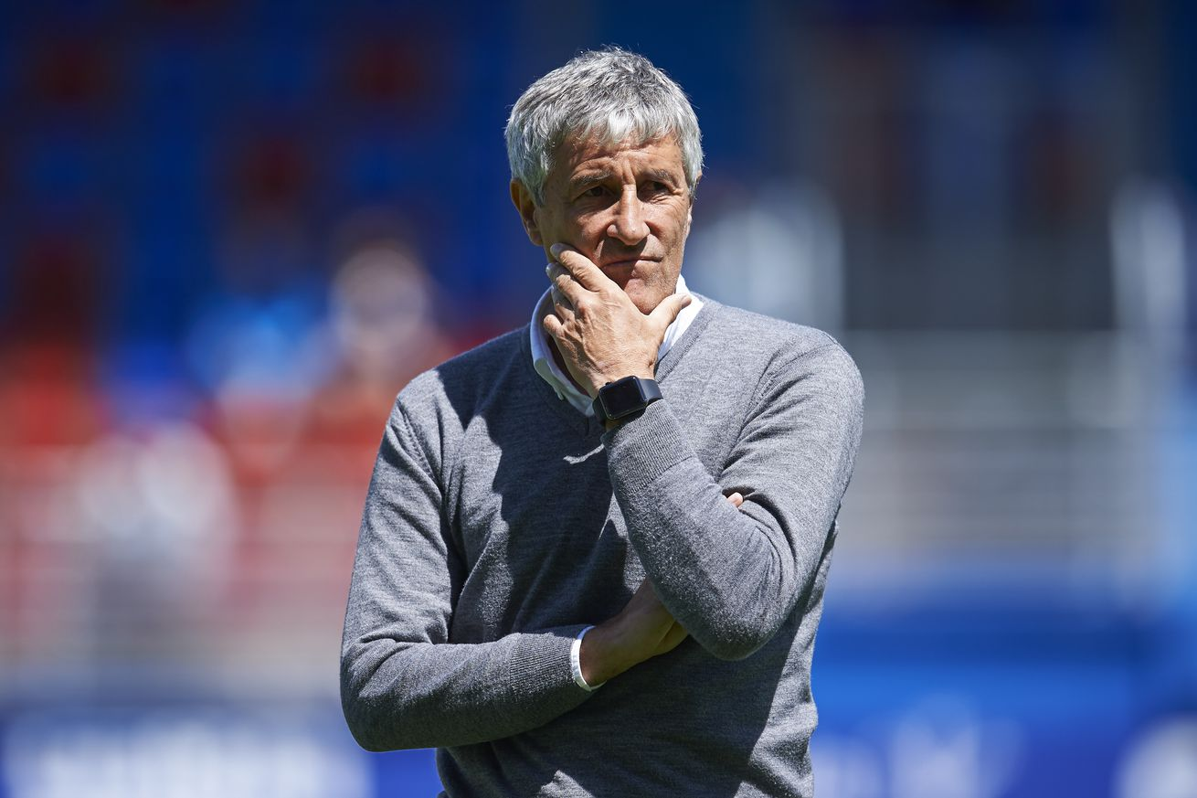 What can Barcelona expect from Quique Setien""