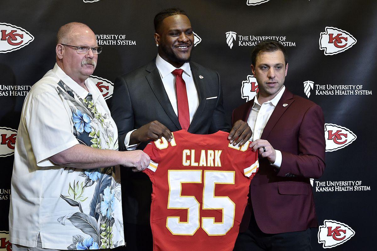 Kansas City Chiefs introduce Frank Clark