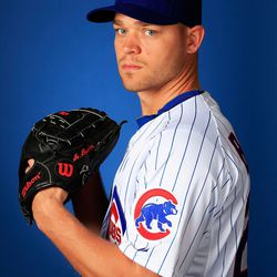 Michael Bowden is very serious about pitching