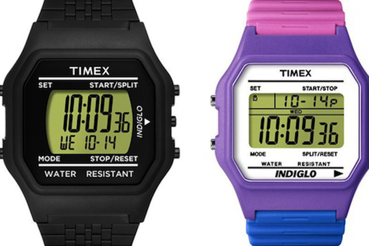 """We can't wait to be the coolest kids in our class with these! Image via <a href=""""http://www.refinery29.com/timex-originals-henri-bendel.php"""">Refinery29</a>."""