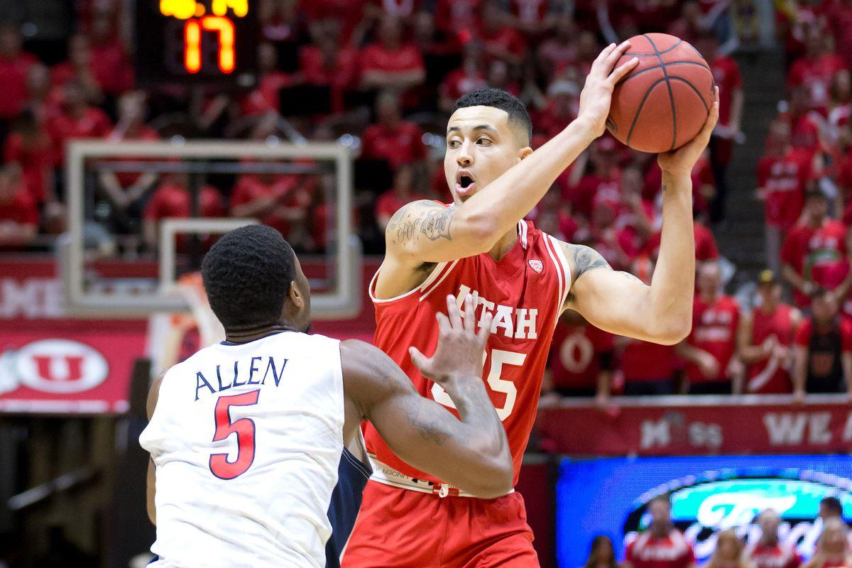 NCAA Basketball: Arizona at Utah