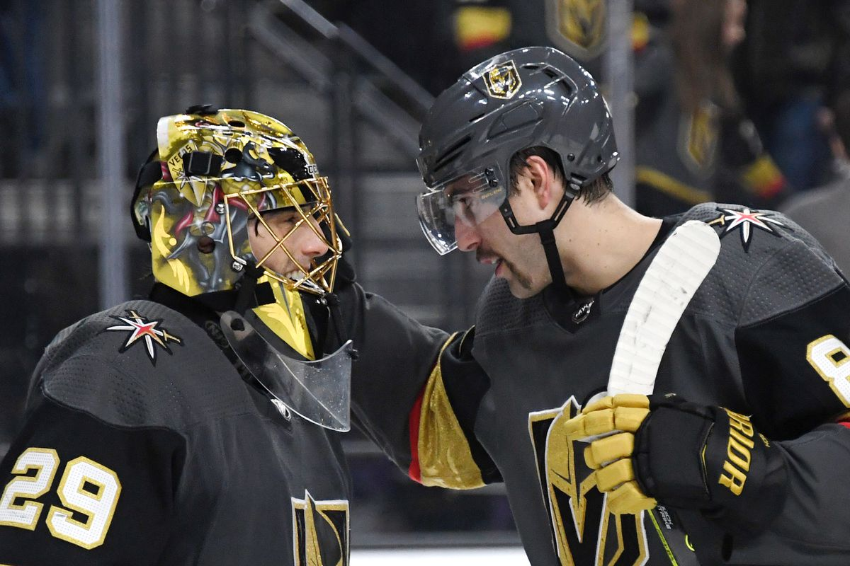 on sale e638e 13de9 Roundtable: Choosing the Golden Knights' MVP at the All-Star ...