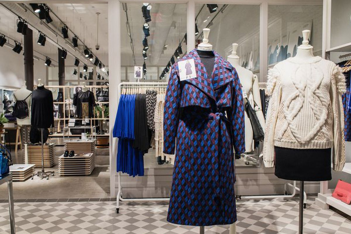 """& Other Stories's first US store in <a href=""""http://ny.racked.com/2014/10/17/7572677/other-stories-nyc-1"""">New York</a>."""