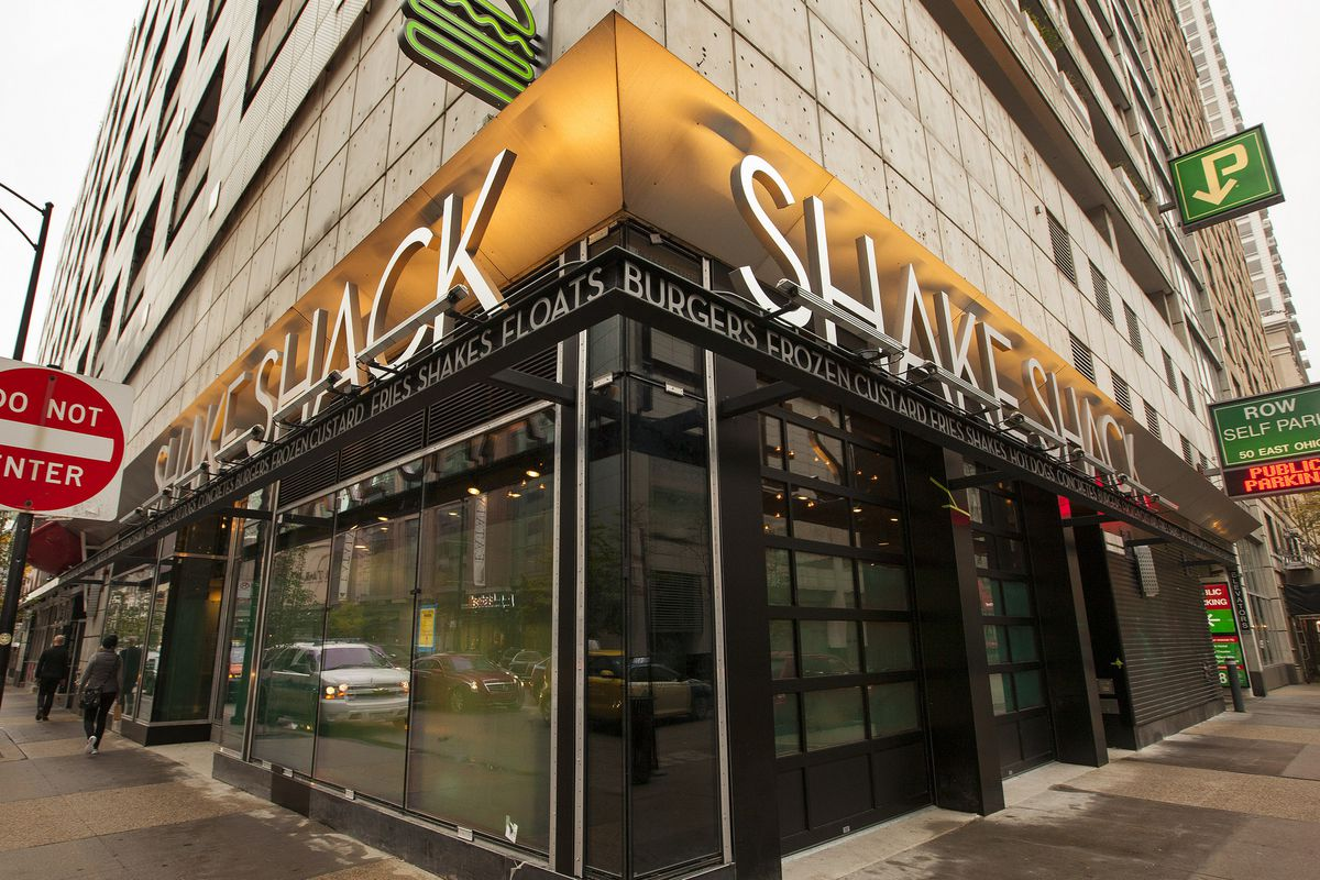 Chicago's first Shake Shack in River North.
