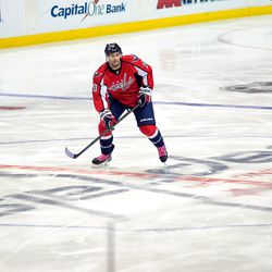 Troy Brouwer in Pink Laces, Hockey Fights Cancer