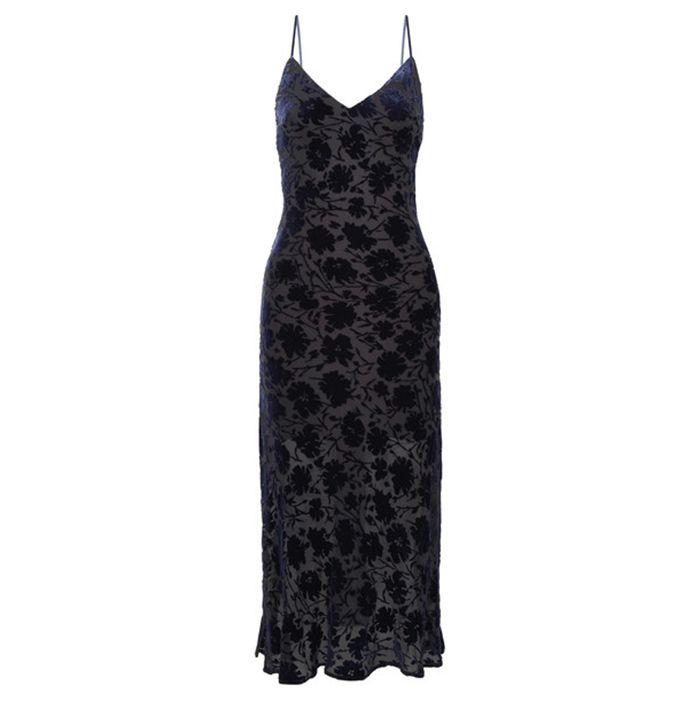Loveshackfancy Kate Chiffon Midi Dress
